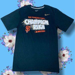 Nike San Francisco Giants T-Shirt Size S Cotton